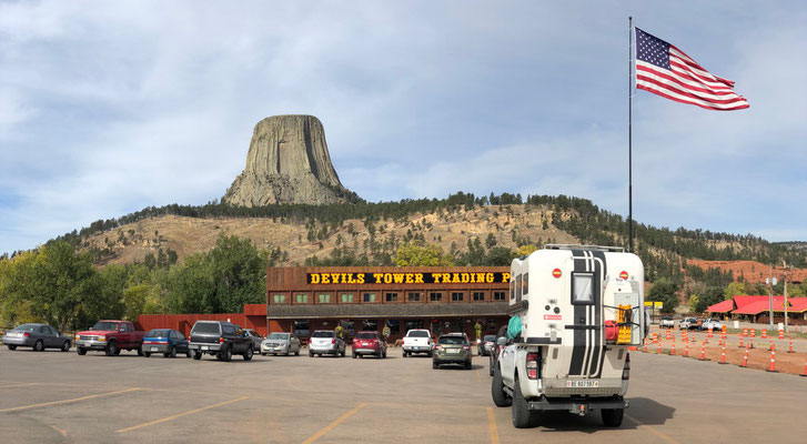 Arrival at Devil's Tower