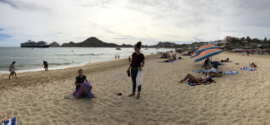 We went and had picnic on the beach before we shortly after left Cabo San Luca heading to Cabo Pulmo a Biological National Sea Park