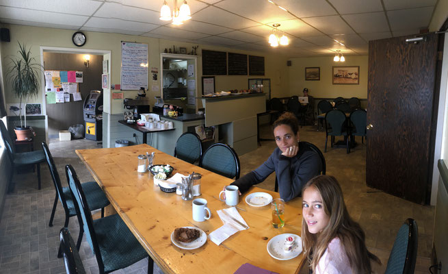 Café in Atlin