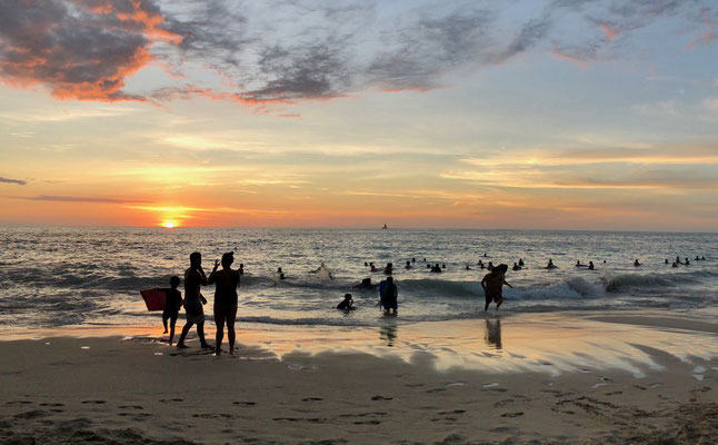 ...and enjoyed the Sunset