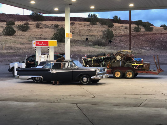Tank stop on Route 66