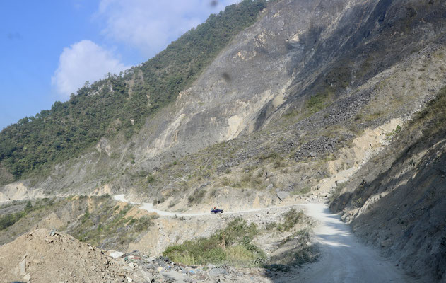 ..the rubbish is such a shame to nature as here the road goes through amazing mountain landscape