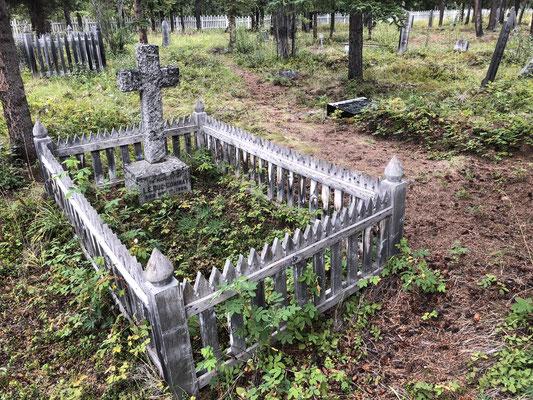 Goldgräber Grabstätte Atlin