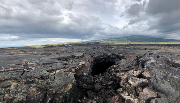 Lava Tubes are so big you can fit a small car through them