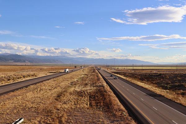 Highway 15 in Utah