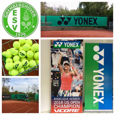 Powered by Yonex!