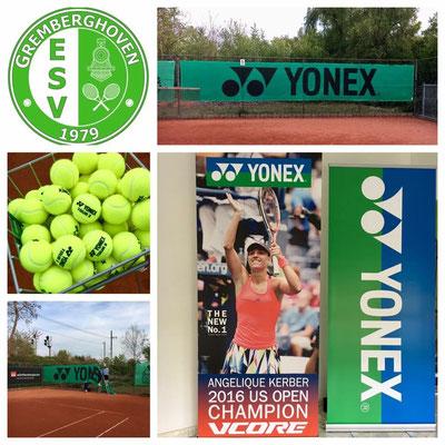 Powered by Yonex!