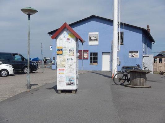 blaues Haus in Ærøskøbing