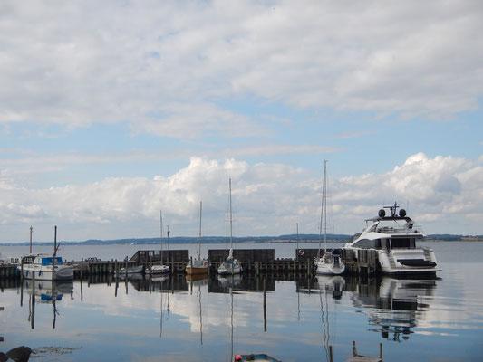 Auch größere Einheiten finden in Korshavn einen Platz