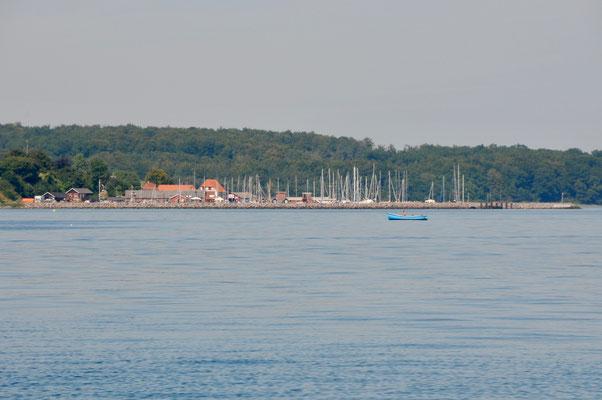 Der Hafen von Lundeborg