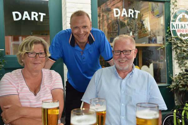 Mit ehemaligem Kollegen Kai. Foto: Anke Z.