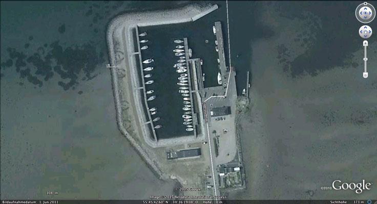 Hafen von Endelave- goggle maps