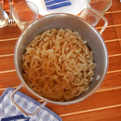 Nudeln für Käse- Sahnesauce a´la Chiara und Axel