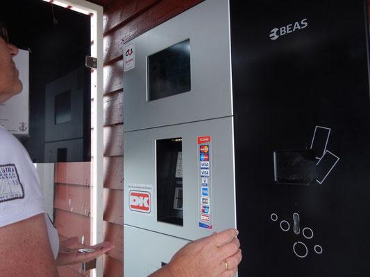Havnepængebetalingsautomat