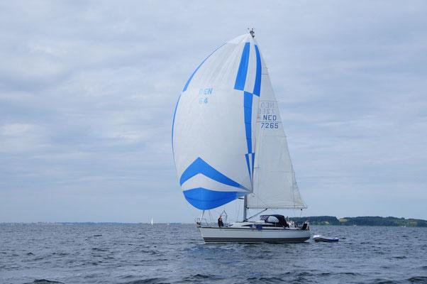 Niederländische X- Yacht