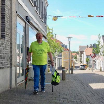 Der Tourist Guide von Nordborg- unermüdlich unterwegs