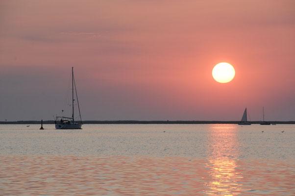 Sonnenaufgang über der Schlei