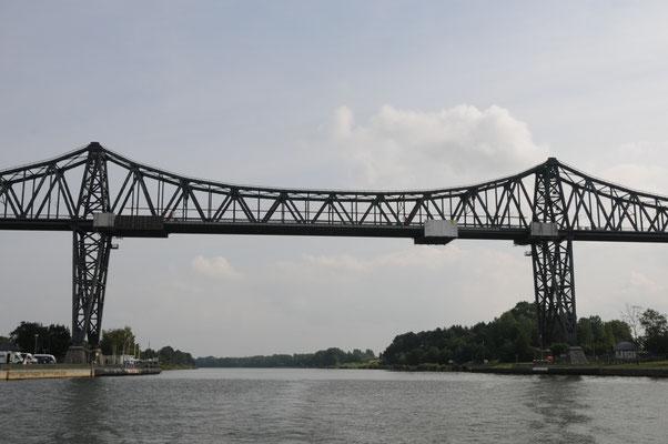 Eisenbahnhochbrücke in Rendsburg