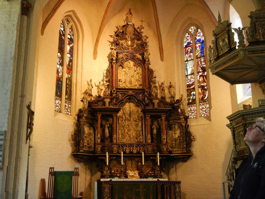 Der Altar in St. Marien