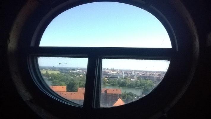 Blick aus der Erlöserkirche