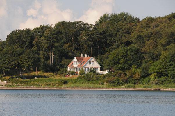 Das Sommerhaus der Familie Mærsk auf Korshavn/Avernakø