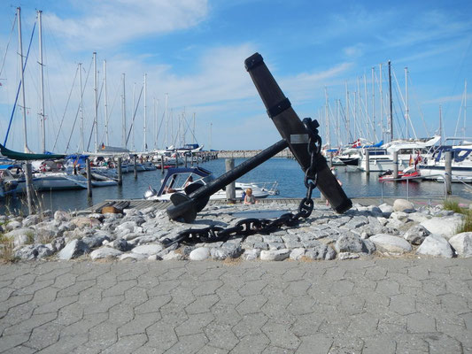 Endelave Hafen