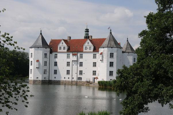 """Das Glücksburg Schloss - """"Wiege der dänischen Könige"""", erbaut 1583 - 1587"""