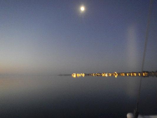 Mond über Juelsminde