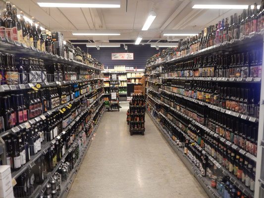 Craft Beer Auswahl bei Kvickly