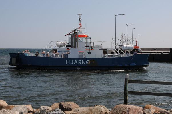 Hjarnø Fähre
