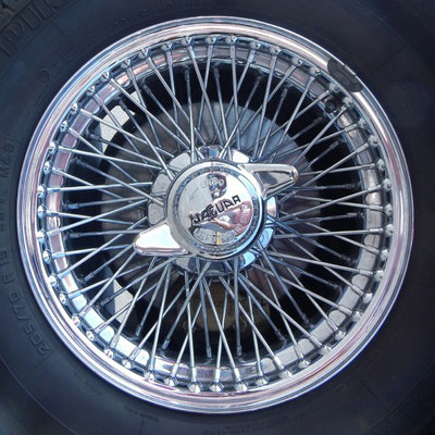 Speichenrad Jaguar E- Type
