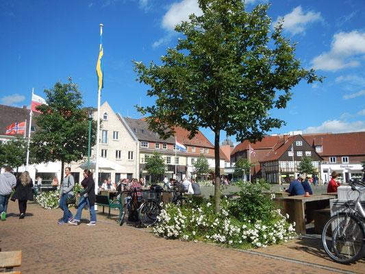 Schiffbrückenplatz in Rendsburg