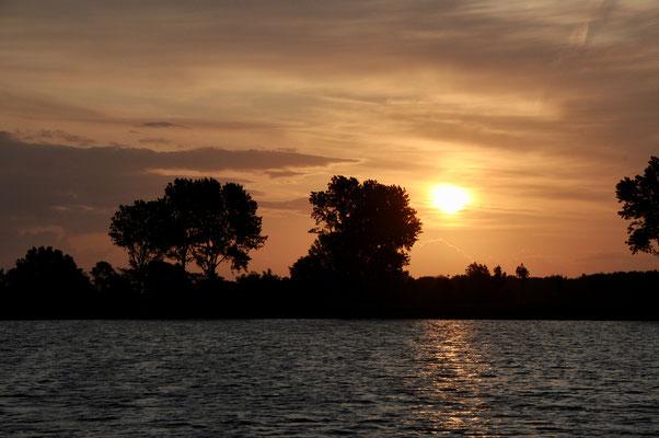 noch ein Sonnenaufgang im Wormshöfter Noor
