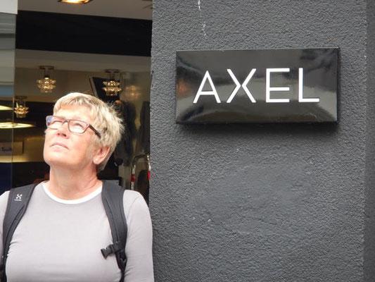 Christa mit Axel