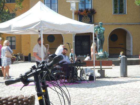 Cool Jazz am Marktplatz