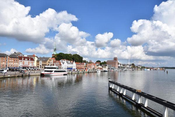 Hafenfront Kappeln. Foto Kai Z.