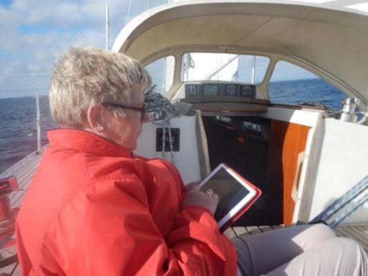 Navigation an der Holnis- Enge
