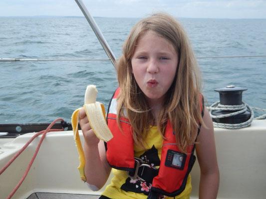Ausgerechnet Bananen und davon 5 Stück!