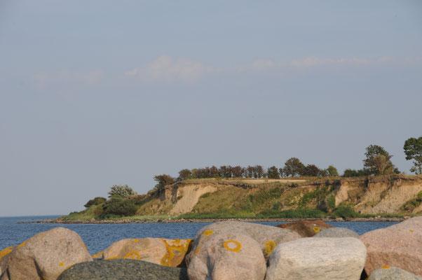 Steilküste neben Søby Havn