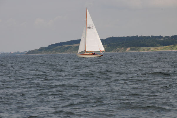 Nur die historischen Boote und wir segeln noch
