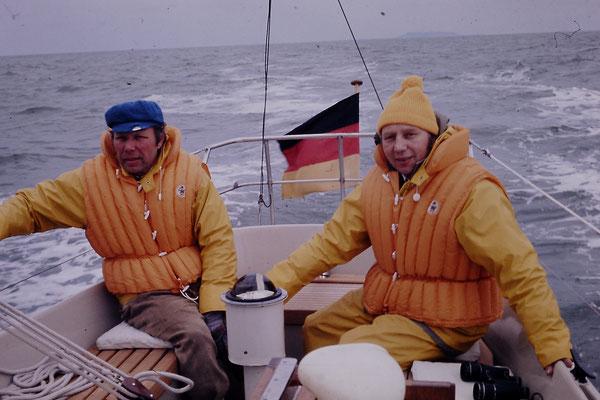 Onkel Bernhard und Vater Hans