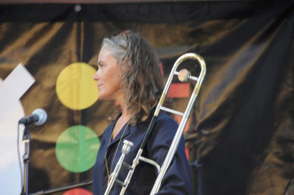 Sisters of Jazz- Lis Wessberg (Basun = Posaune)