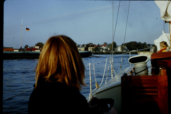 Axel an Bord von Ritena