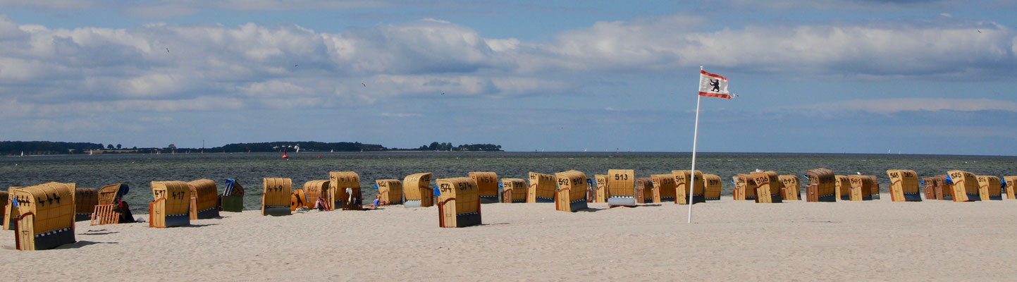Strandkörbe in Laboe