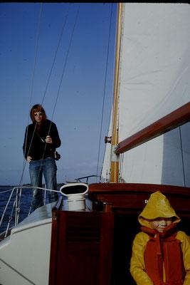 Axel und Peter an Bord von Ritena