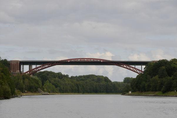 Alte Levensauer Hochbrücke in Kiel