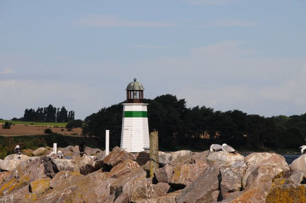 Hafenausfahrt Søby