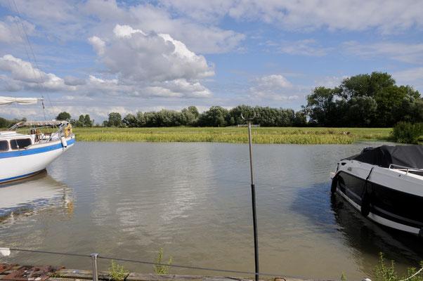 Bei Hochwasser
