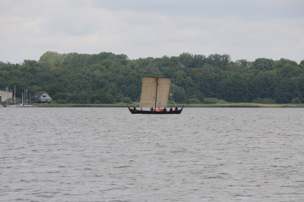 Wikingerschiff auf der Kleinen Breite