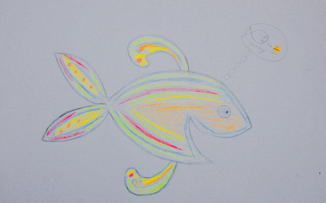 Stade inspiriert Chiara wieder einmal zum Zeichnen